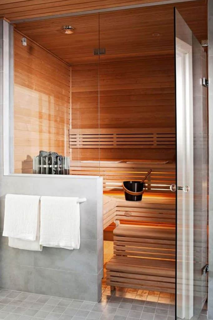 sauna design and installation