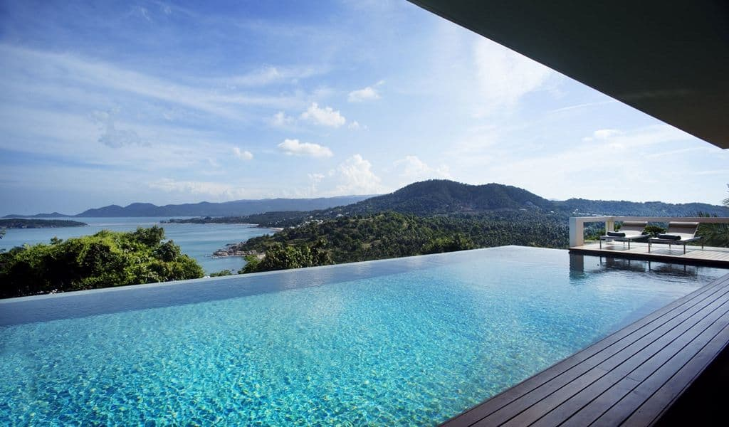 Infinity pools are a luxury pool design - KDT Swimming Pools