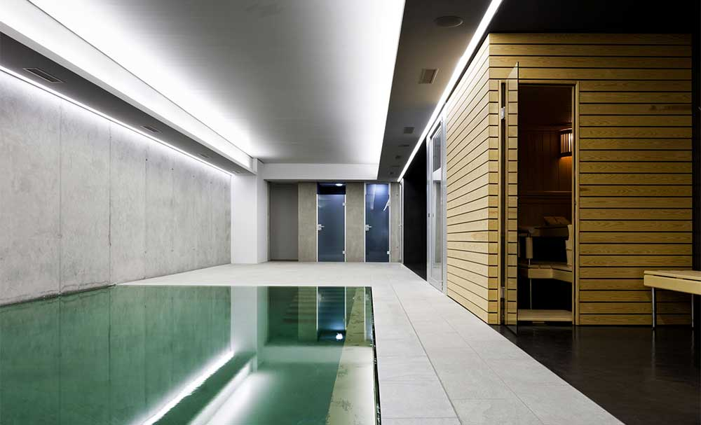 residential swimming pool designers