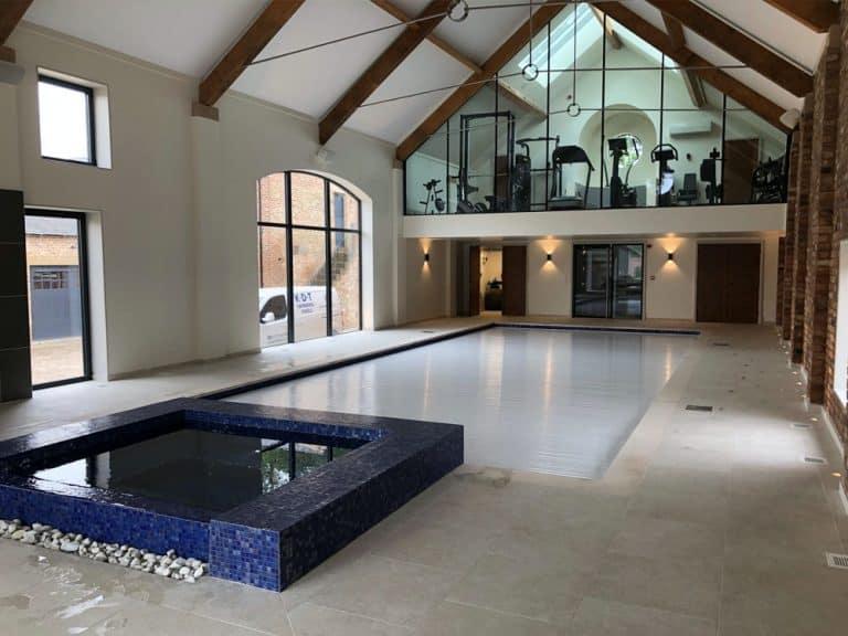 luxury pool design